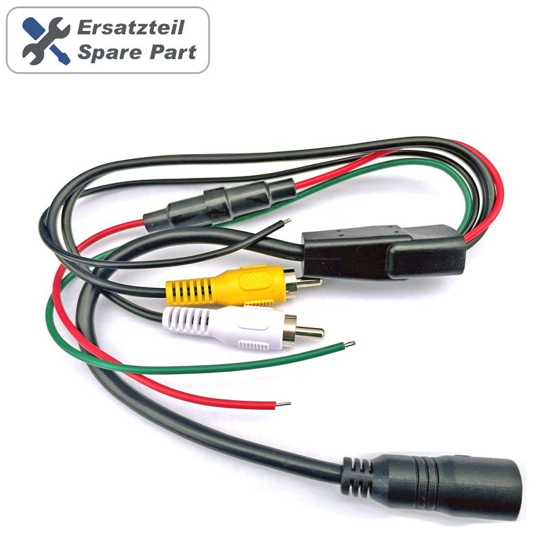 NAVLINKZ Adapterkabel 4-PIN auf Cinch | Verkabelung für ...