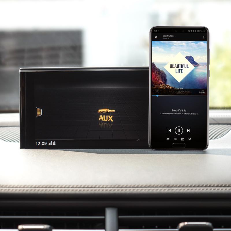Ampire a2dp Bluetooth radio receiver aux 3,5 Jack USB adaptador btr300 retroadaptar