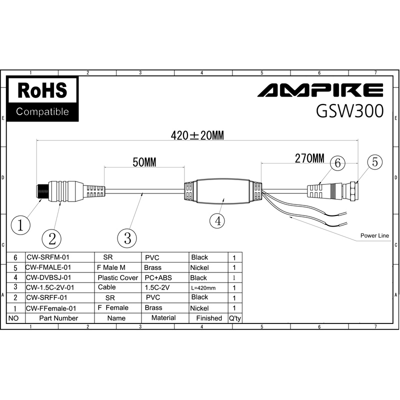 ampire power supplies for active antennas ant300  500