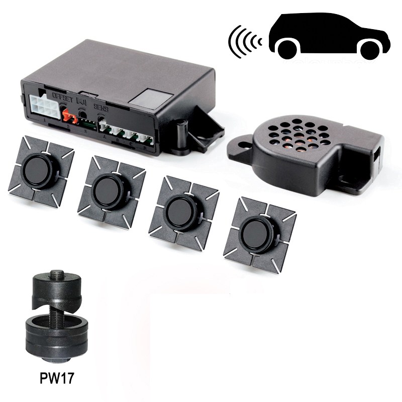 META SYSTEM ACTIVEPARK 2015 rear parking sensors system, flush mounted-w/o LED-display (only tone)-image