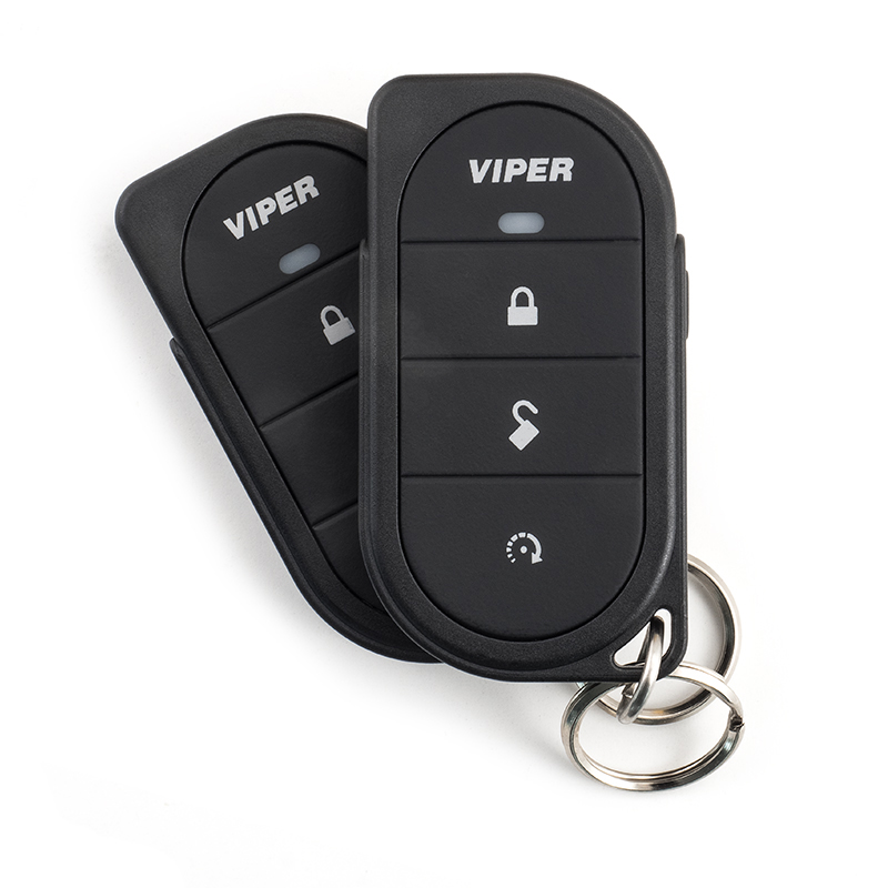 VIPER Car Alarm System with two 7146V 1-way remote control